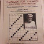 Giochi di enigmistica latina e greca