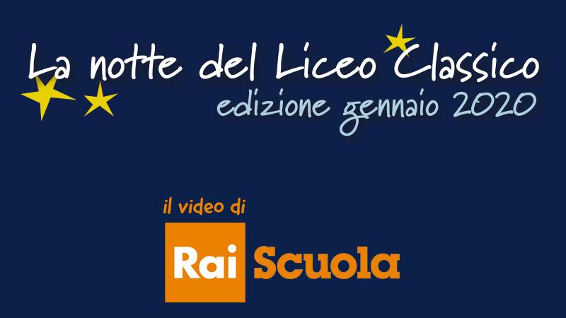 La Notte del Liceo Classico copertina video