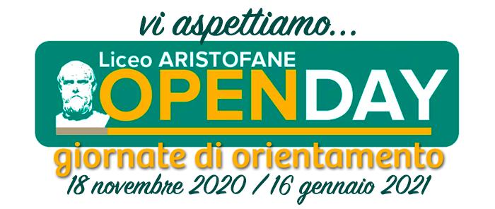 opendays 2020-2021 titolo